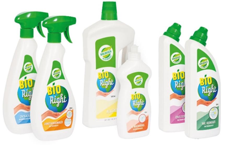 Bioright schoonmaak producten