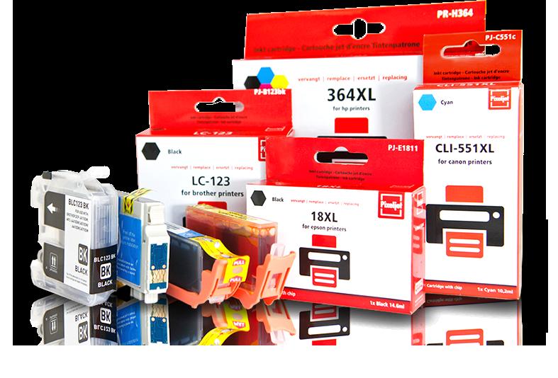Pixeljet betaalbare cartridges