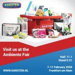 Karsten International at the Ambiente Fair